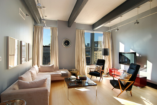 Brooklyn Loft Living Area